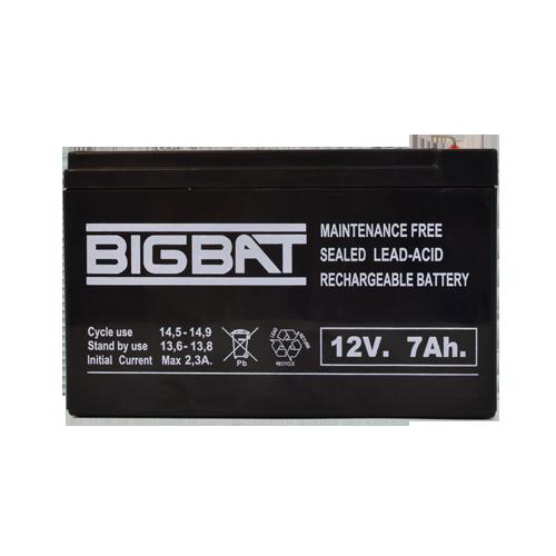 Acumulator BIG BAT 12V, 7 AH