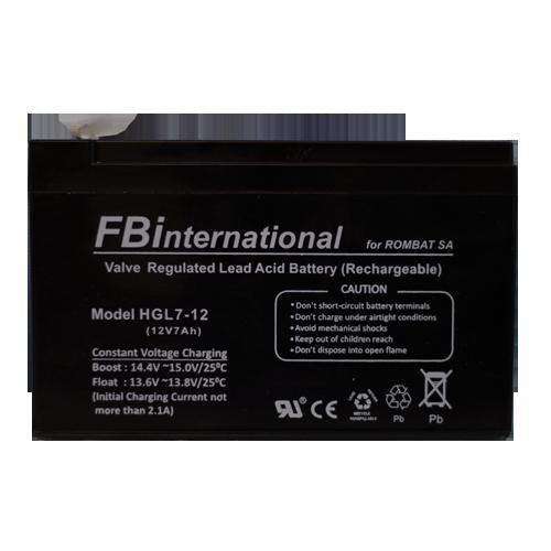 Acumulator 12V, 7Ah -Fbi ROMBAT