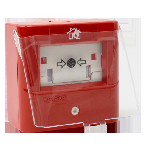Capac protectie pentru buton manual de incendiu - UNIPOS