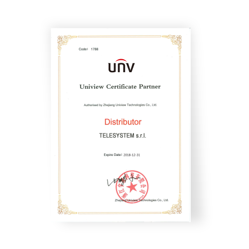 Distribuitor autorizat UNV UNIVEW in Romania