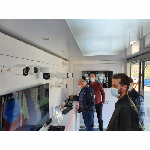 Hikvision Romania on Tour Iasi 19-23 octombrie 2020, Showroom Telesystem